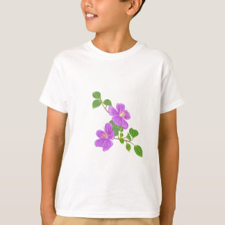 Purple Grass Flower T-Shirt