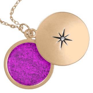 Purple Grass Necklaces