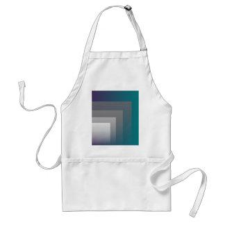 purple gray teal standard apron