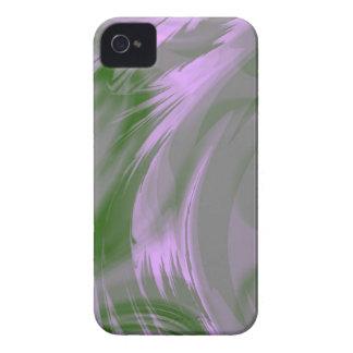 Purple Green Fractal Art Blackberry Phone Case Blackberry Bold Case