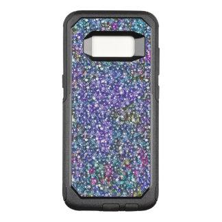 Purple & Green Glitter Texture G4 OtterBox Commuter Samsung Galaxy S8 Case