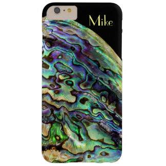 Purple Green & Gold Abalone Mother of Pearl Shell Barely There iPhone 6 Plus Case