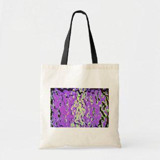 Purple Green Ripples Bag