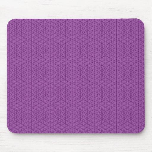 Purple Grids Mousepads