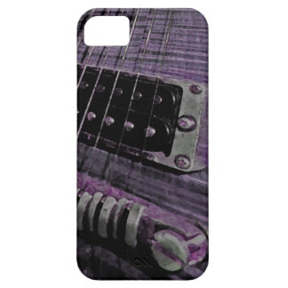Purple Guitar Melt IPhone Case