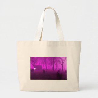 Purple Halloween Canvas Bag