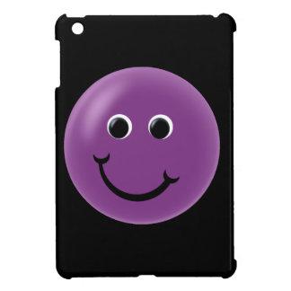 Purple Happy Smiley Case For The iPad Mini