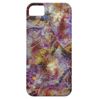 Purple Haze Abstract Case For The iPhone 5