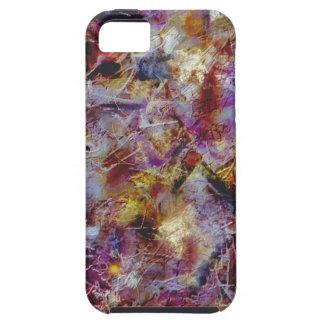Purple Haze Abstract iPhone 5 Case