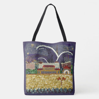 Purple Haze Bondi Beach by Sequin Dreams Studio Tote Bag