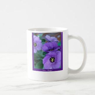 "Purple Haze - ""Dew Drops"" Coffee Mug"