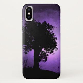 Purple Haze iPhone X Case