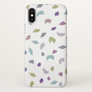 Purple Haze iPhone X Glossy Case