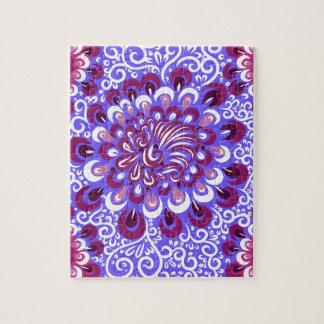 Purple haze jigsaw puzzle