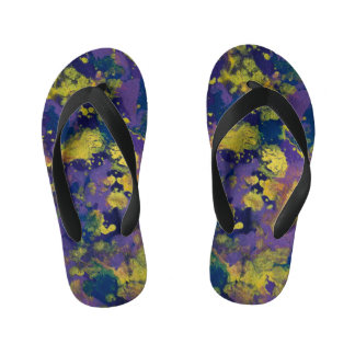 Purple Haze Kid's Thongs