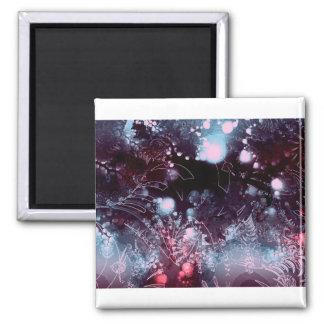 Purple Haze Square Magnet