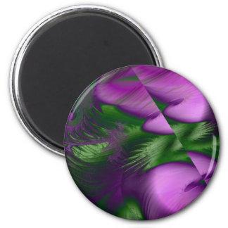 Purple Haze Fridge Magnet