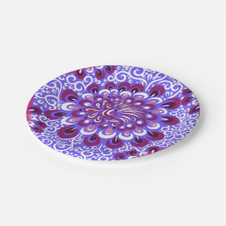 Purple haze paper plate