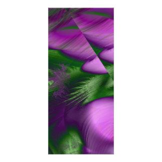 Purple Haze Rack Card Template