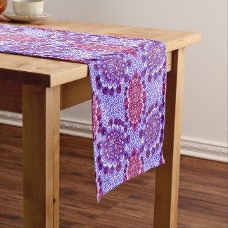 Purple haze short table runner
