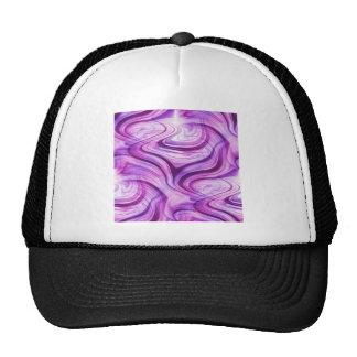 Purple Haze Squiggles Mesh Hat