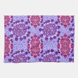 Purple haze tea towel
