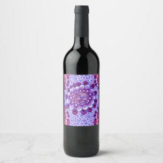 Purple haze wine label
