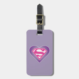 Purple Heart S-Shield Luggage Tag