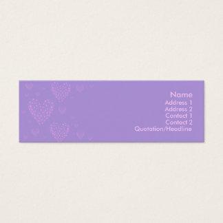 Purple heart Skinny Card 2
