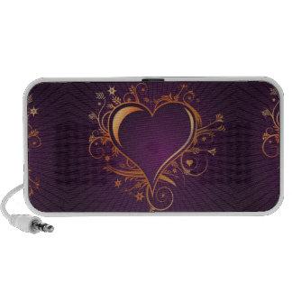 Purple heart speaker