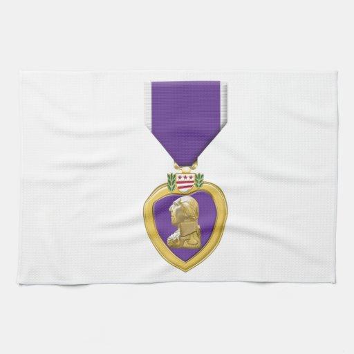 Purple Heart Towel