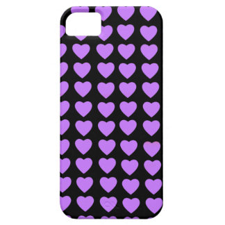 Purple Hearts Barely There iPhone 5 Case