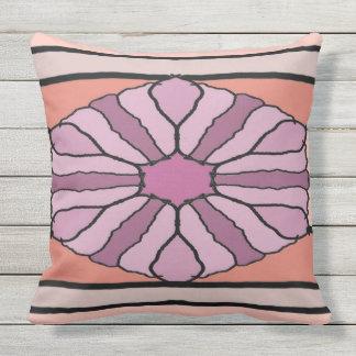 Purple Hex Cushion