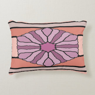 Purple Hex Decorative Cushion