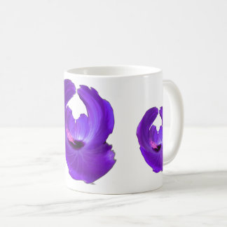 Purple Hibiscus Abstract Flower 201711h Coffee Mug