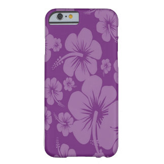 Purple Hibiscus Hawaiian Print Barely There iPhone 6 Case