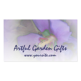 Purple Hibiscus Pack Of Standard Business Cards