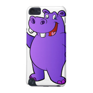 purple hippo cartoon iPod touch 5G covers