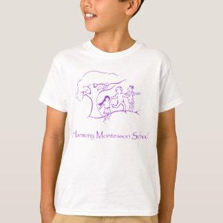 Purple HMS Logo T-Shirt