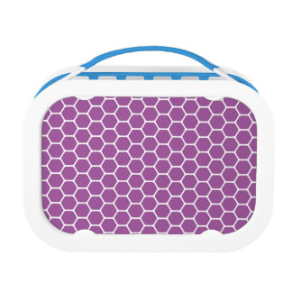 Purple Honeycomb Lunchboxes
