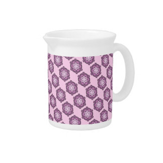 Purple Honeycomb Pitcher