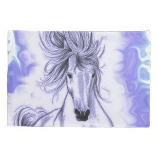 Purple Horse Pillowcase