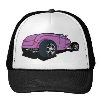 Purple Hot Rod Hat