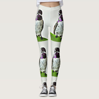Purple Hummer Women's Leggings