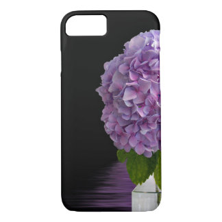purple hydrangea in vintage botte iPhone 8/7 case