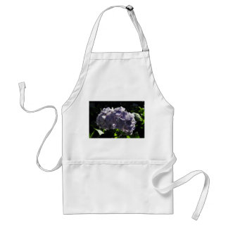 Purple Hydrangeas Flowers Standard Apron