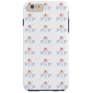 Purple Ice Cream Pop Tough iPhone 6 Plus Case
