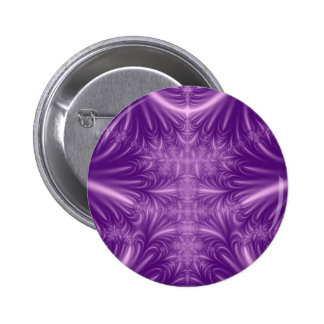 Purple Ice Crystals Button