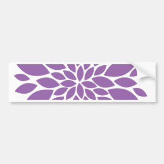 Purple In Bloom Bumper Sticker