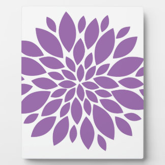 Purple In Bloom Display Plaque